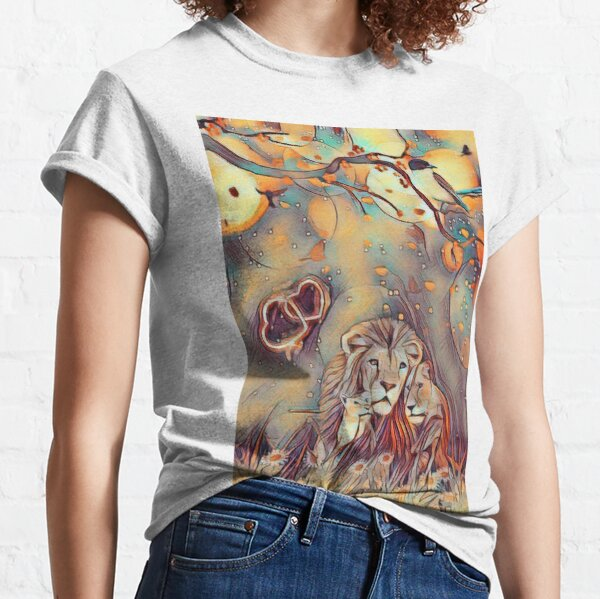 love icon lion Classic T-Shirt