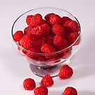 Raspberries by Ray Clarke
