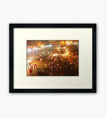 Just Marrakech  Framed Print