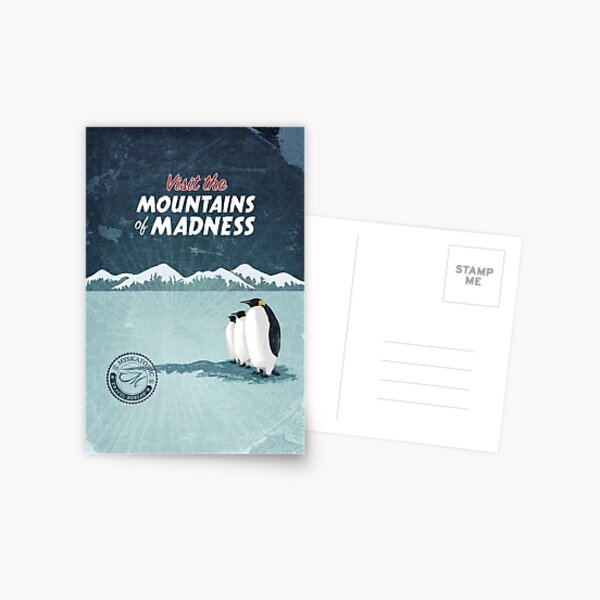 Visit the Mountains of Madness Postcard