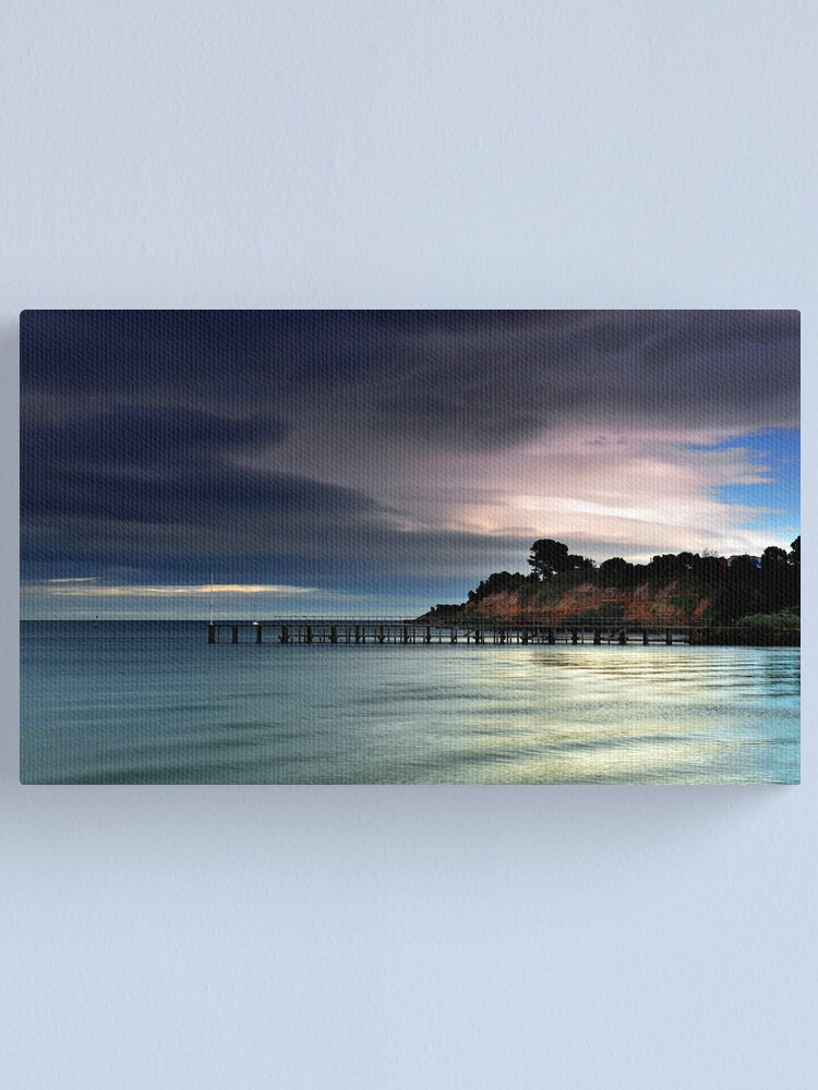 Alternate view of Passing Storm - Beaumaris Canvas Print