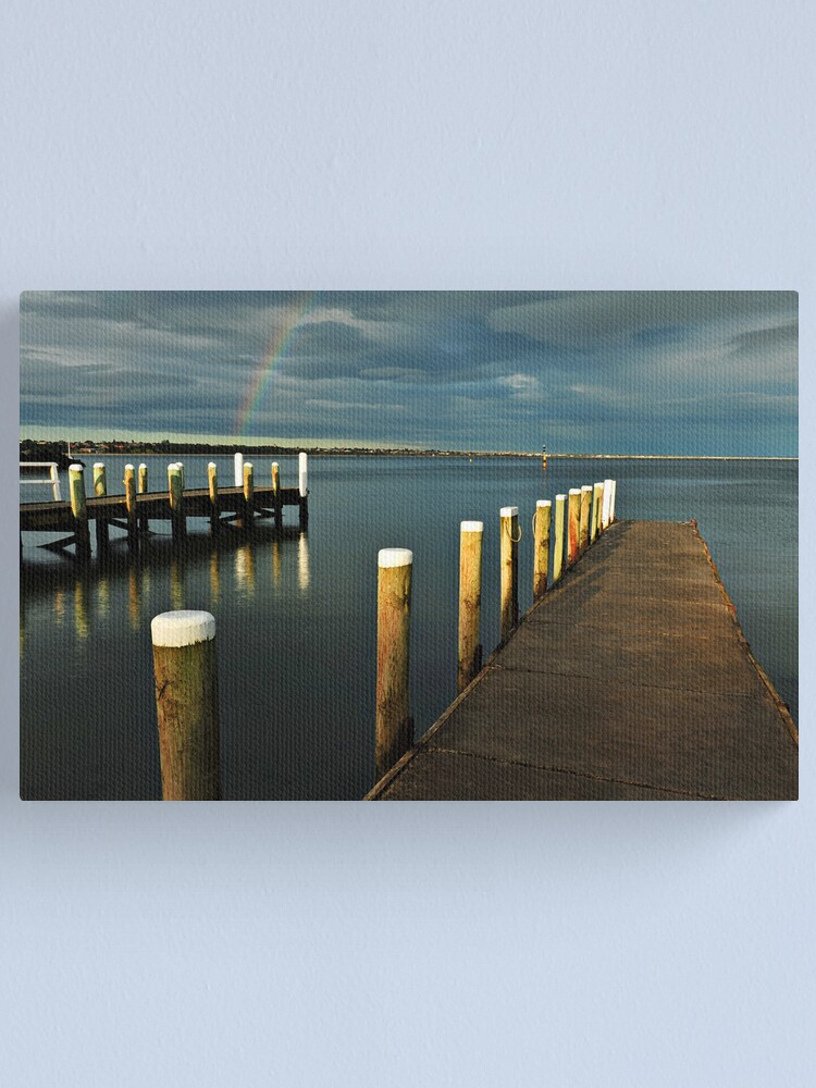 Alternate view of Rainbow Magic - Beaumaris Vic. Canvas Print