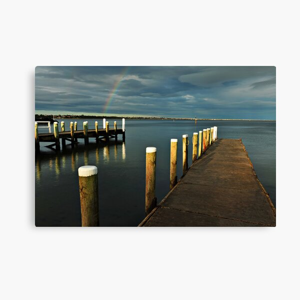 Rainbow Magic - Beaumaris Vic. Canvas Print