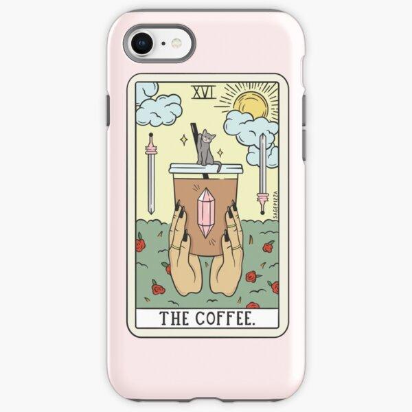 COFFEE READING (LIGHT) iPhone Tough Case