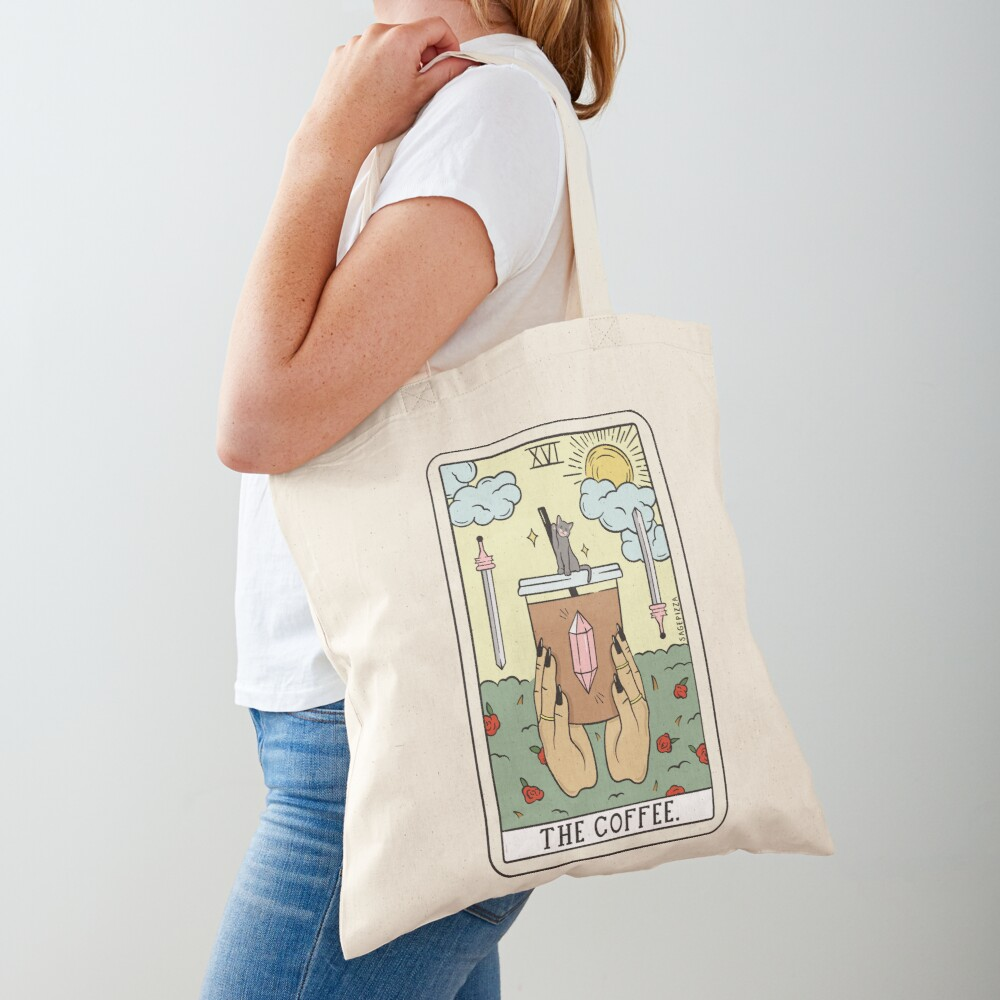 COFFEE READING (LIGHT) Tote Bag