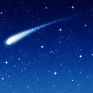 Blue Shooting Star - Make a wish by clearviewstock