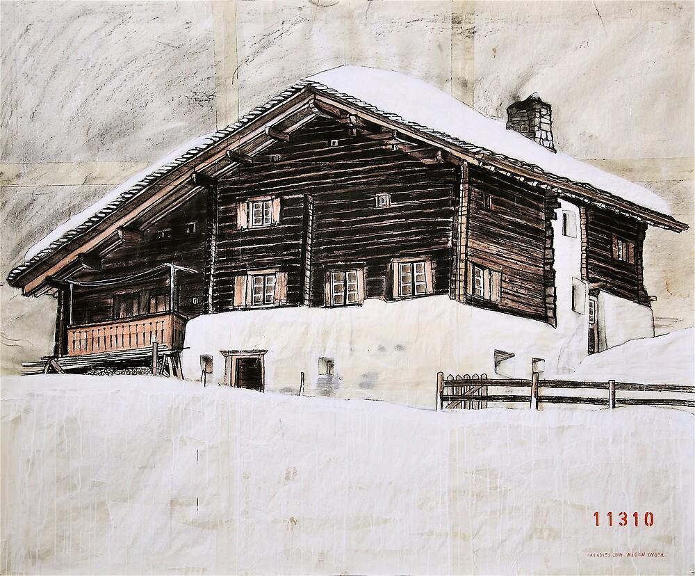Avers House, Switzerland by itchingink