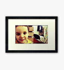 Musa Framed Print