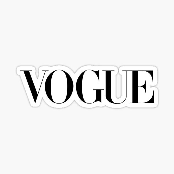 Vogue Logo  Sticker