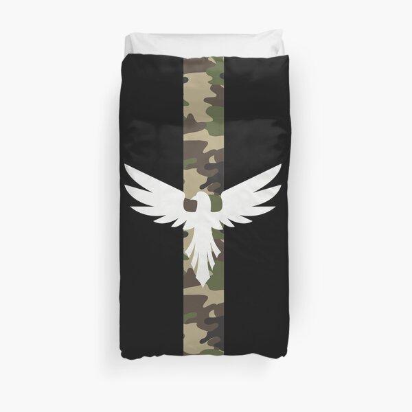 Army eagle Duvet Cover