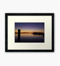 Hillarys Boat Harbour Framed Print