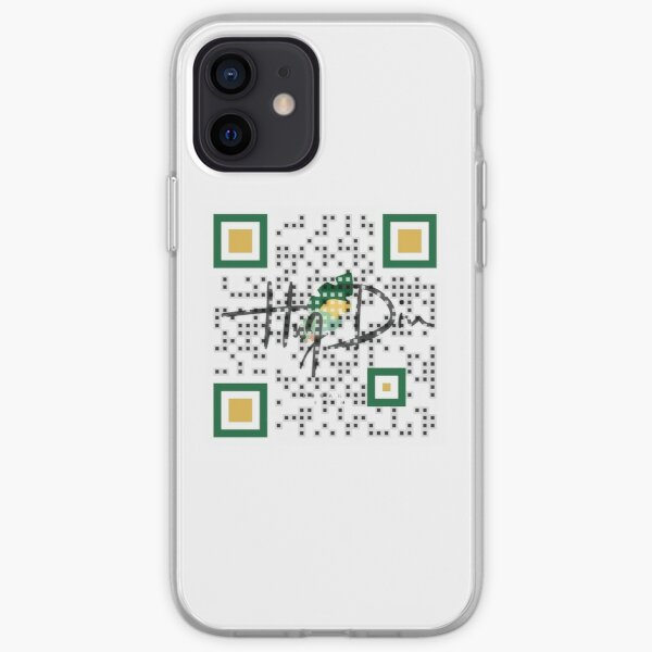 Logo QR Code with Branding iPhone Soft Case