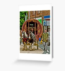 Arriving in Appleby Greeting Card