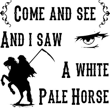 A White Pale Horse by SliceOfLife42