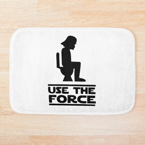 Use the force Bath Mat