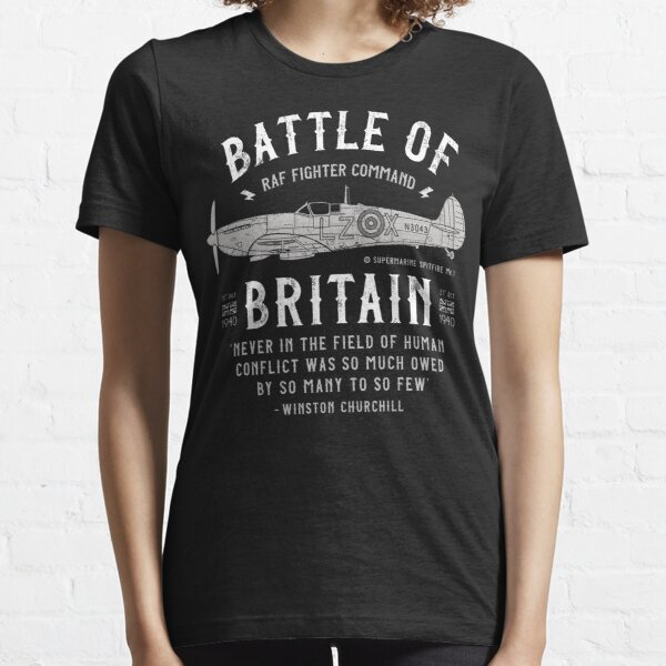 Battle of Britain - Spitfire Essential T-Shirt