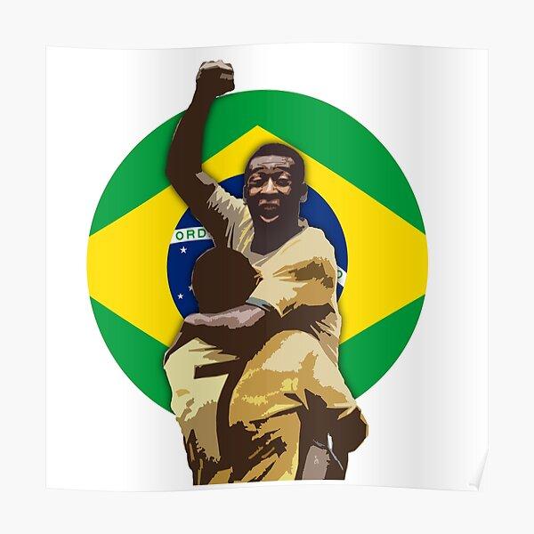Pele Greates Footbal Player in History - Joga Bonito Poster