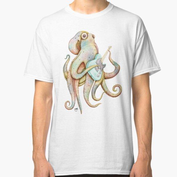 POLAH - the axe wielding Octopus (on Aqua) Classic T-Shirt