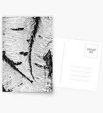 Birch bark Postcards