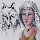 """Kindred spirits"" by KATRINAKOLTES"