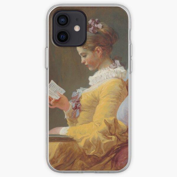 Jean Honoré Fragonard Young Girl Reading iPhone Soft Case