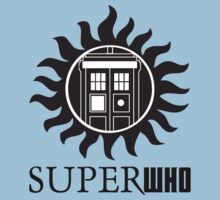 SUPERWHO DOCTOR WHO SUPERNATURAL with LOGO