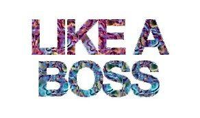 Like a boss sticker by luluandizzie12