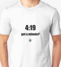 4:19 (black) T-Shirt