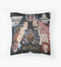 THE WEST WING Throw Pillow