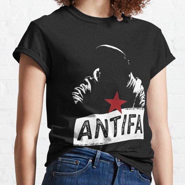 Antifa Silhouette Classic T-Shirt