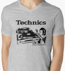 technics 2 Men's V-Neck T-Shirt
