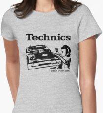 technics 2 Women's Fitted T-Shirt