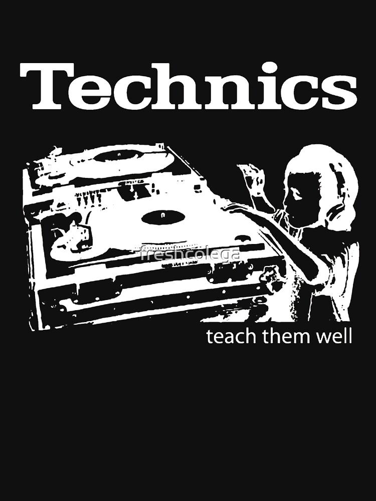TShirtGifter presents: technics 3 | Unisex T-Shirt