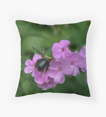 """Bumble Bee 4 """"I think I can"""" Throw Pillow"""