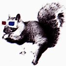 3D squirrel-vision by renduh