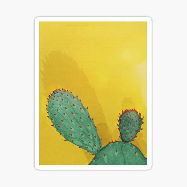 Spiky cactus Sticker