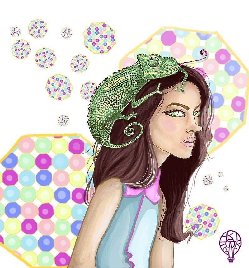 The Chameleon by artforrad
