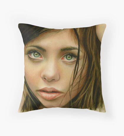 Why does my heart feel so sad Throw Pillow