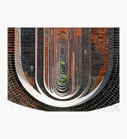 Below the Viaduct (11 Million Bricks) Photographic Print