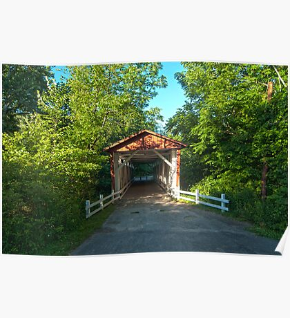 Everett Road Covered Bridge in Cuyahoga Valley National Park Poster