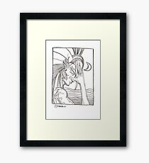 A second inkling Framed Print