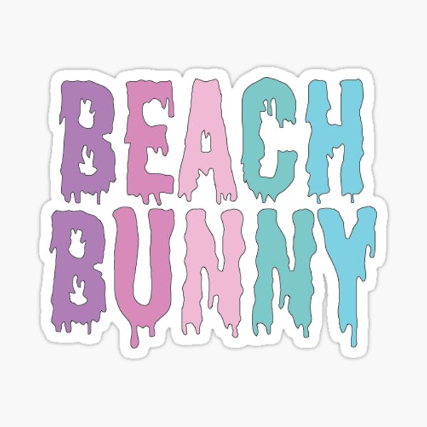 Beach Bunny Sticker