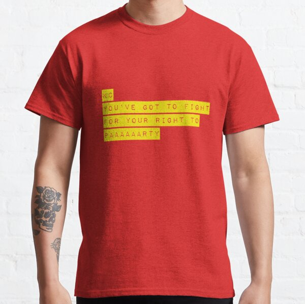 KC Fight for Your Right Classic T-Shirt