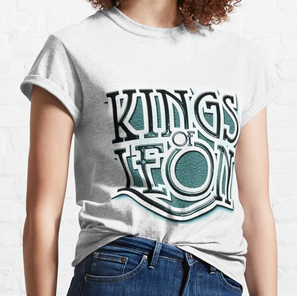 Kings of Leon Boys Teens Group Short Sleeve T-Shirt