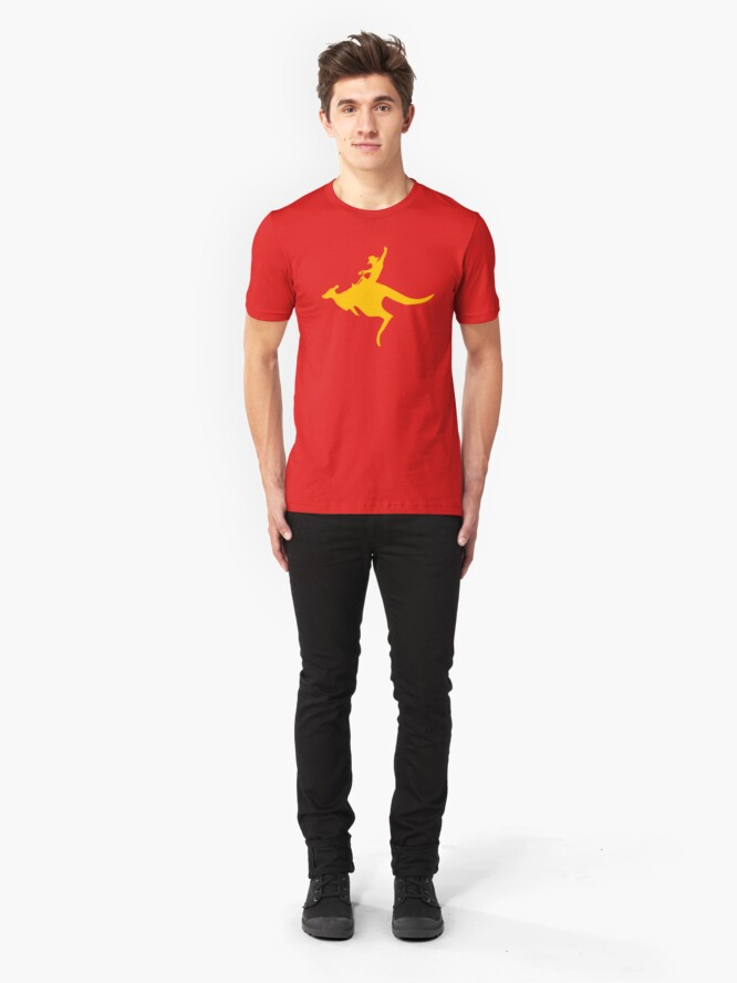 Alternate view of Real Cowboys Roodeo! Slim Fit T-Shirt