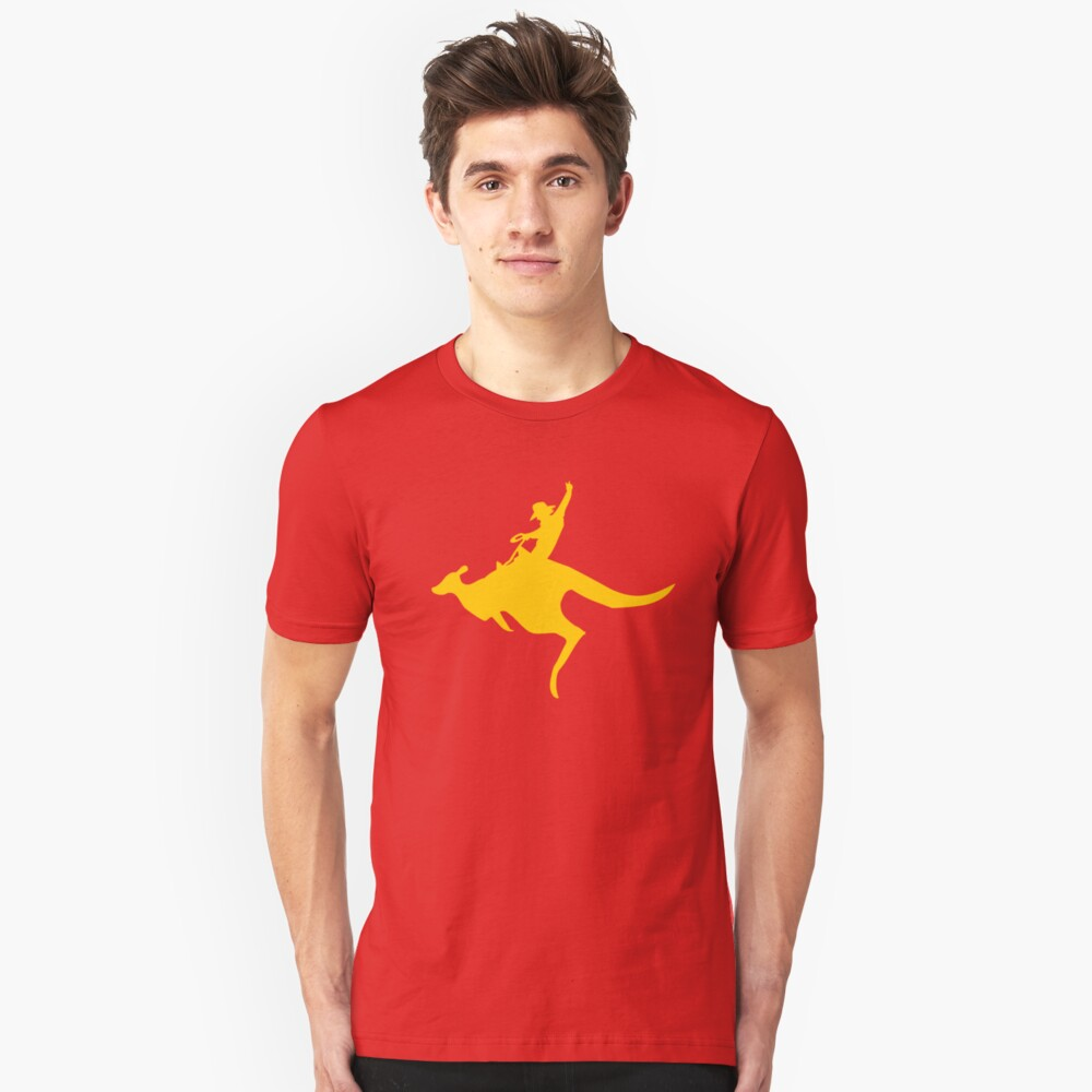 Real Cowboys Roodeo! Slim Fit T-Shirt