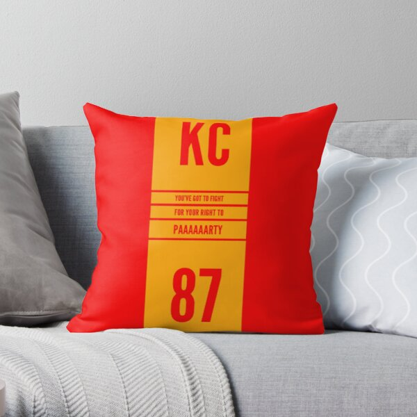 KC You've got to Fight  Throw Pillow