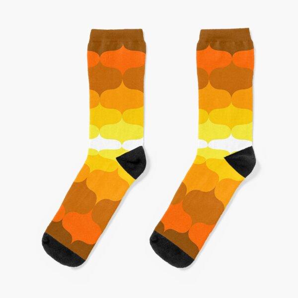 Retro 60 Pattern Socks