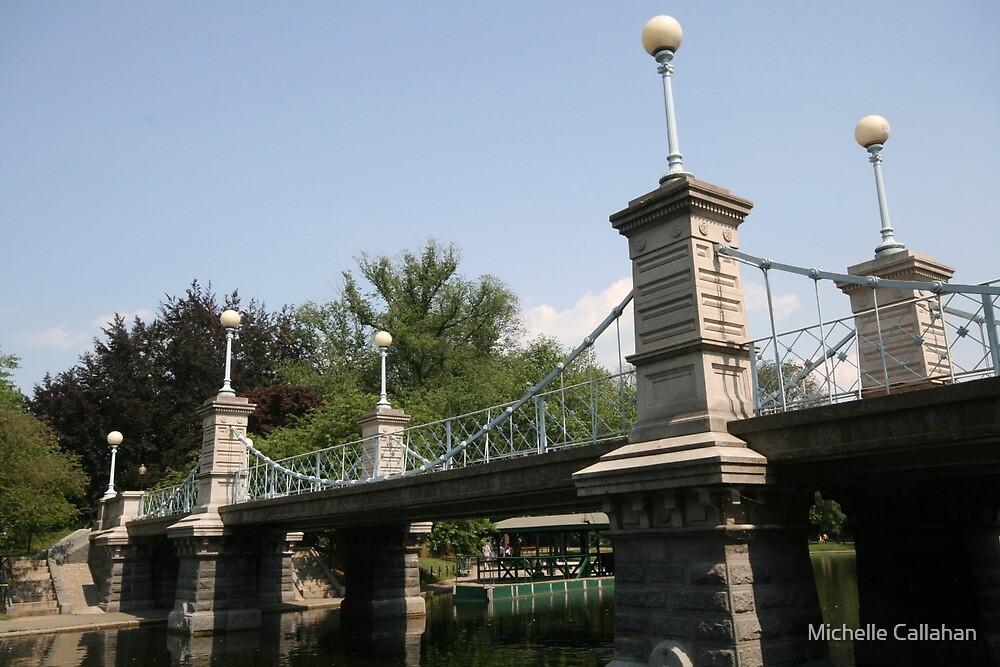 Boston Public Garden Bridge by Michelle Callahan