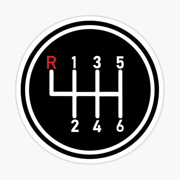 Manual Transmission Logo 1 Sticker